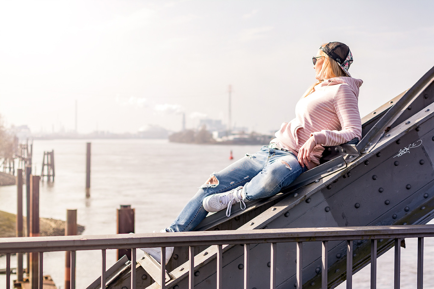 Relaxed in Hamburg