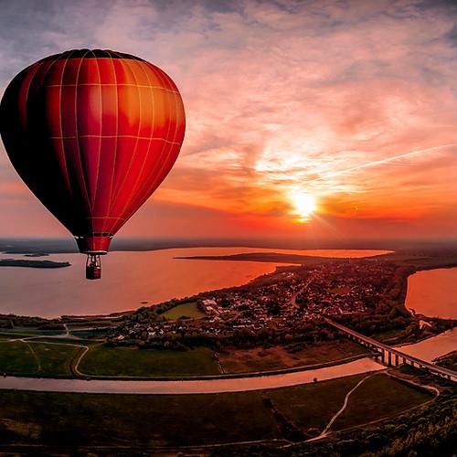 Panorama aus der Luft