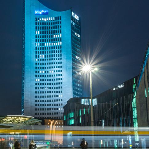 Hochhaus in Leipzig