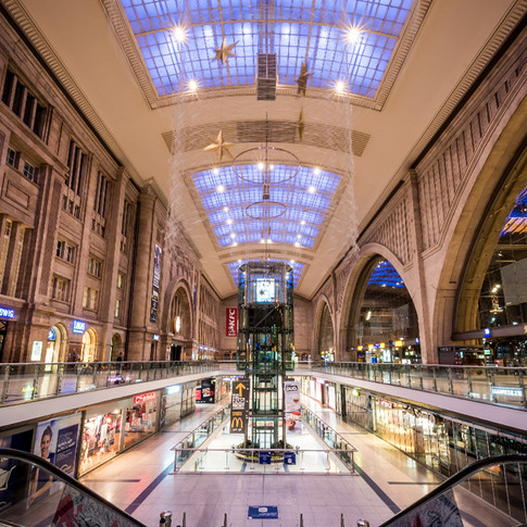 Promenaden Hauptbahnhof in Leipzig