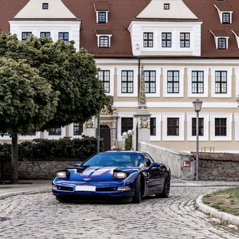 Corvette C5 Schloss Delitzsch