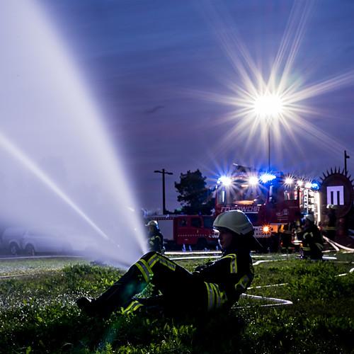 Übung Feuerwehr