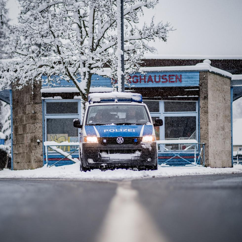 Polizei VW T5