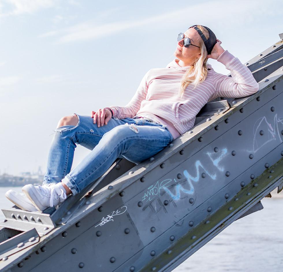 Hamburg in der Sonne genießen