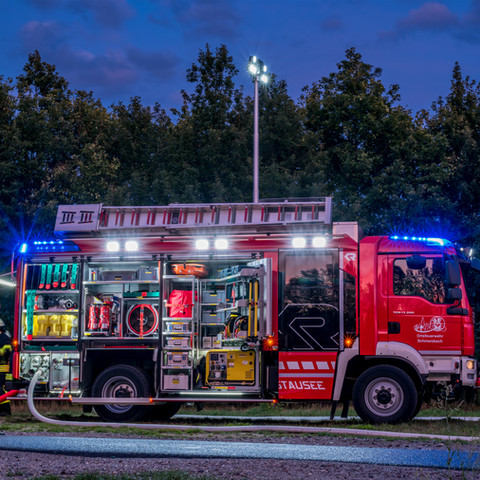 Feuerwehrfahrzeug Rosenbauer