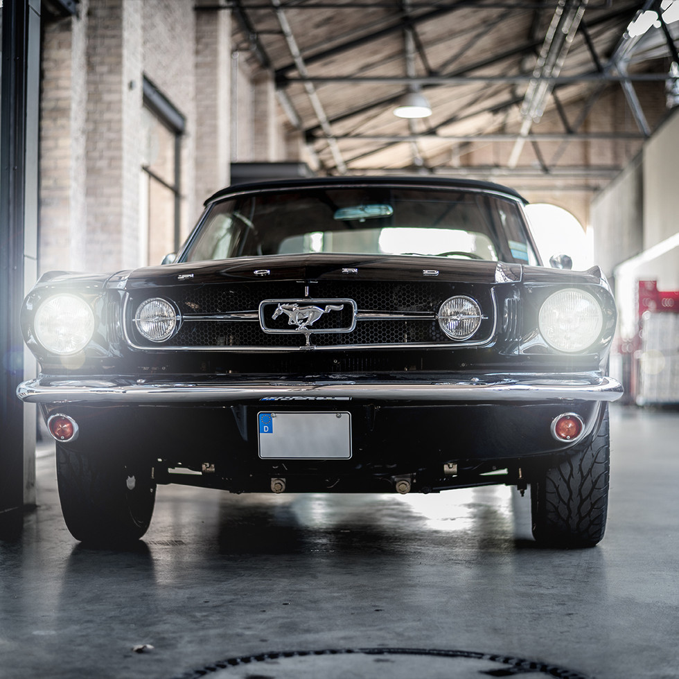 1969 Ford Mustang Cabrio im Classic Remise Berlin