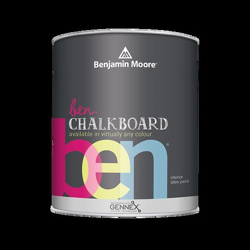 DES Benjamin Moore Chalkboard Paint