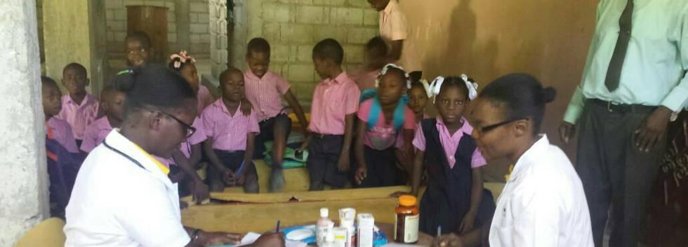 Nurses Visiting School