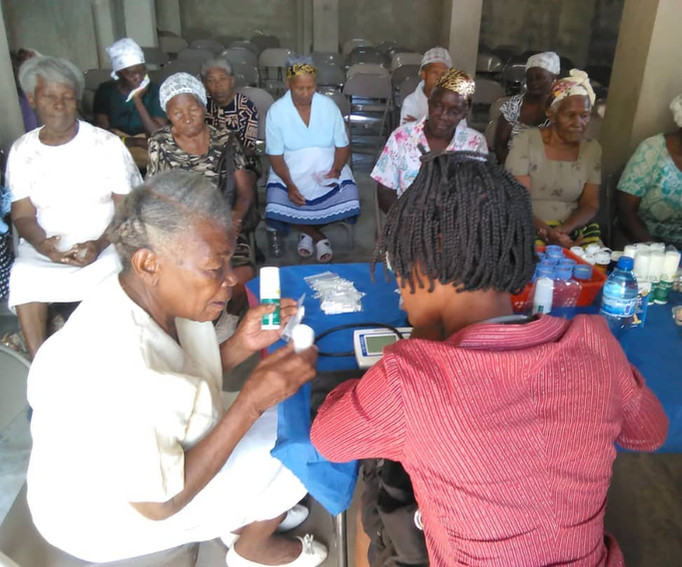 Widows Ministry with Nurses