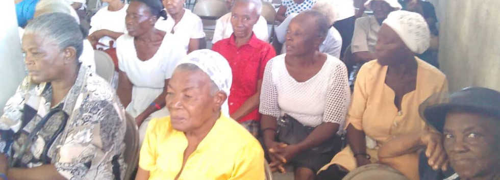 Monthly Widows Outreach