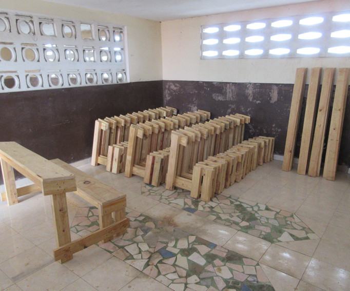 Building Desks and Benches