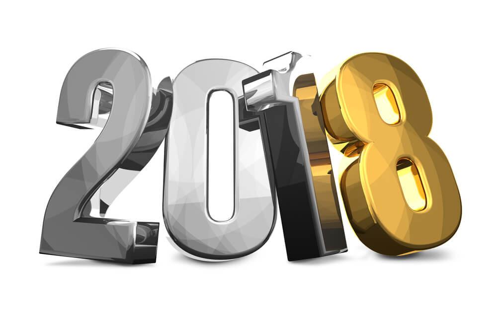 Bonne année 2018 ! Meilleurs Voeux de Santé !