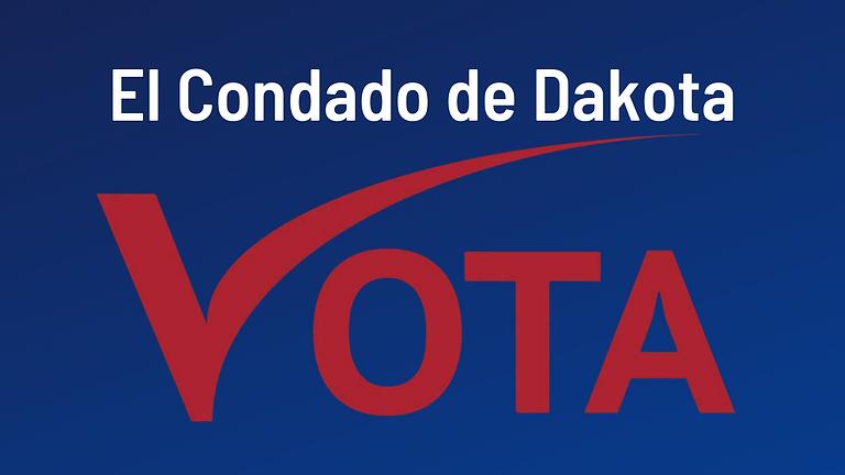 In Person Voter Registration ends October 23.   El registro de votantes en persona finaliza el 23 de octubre.