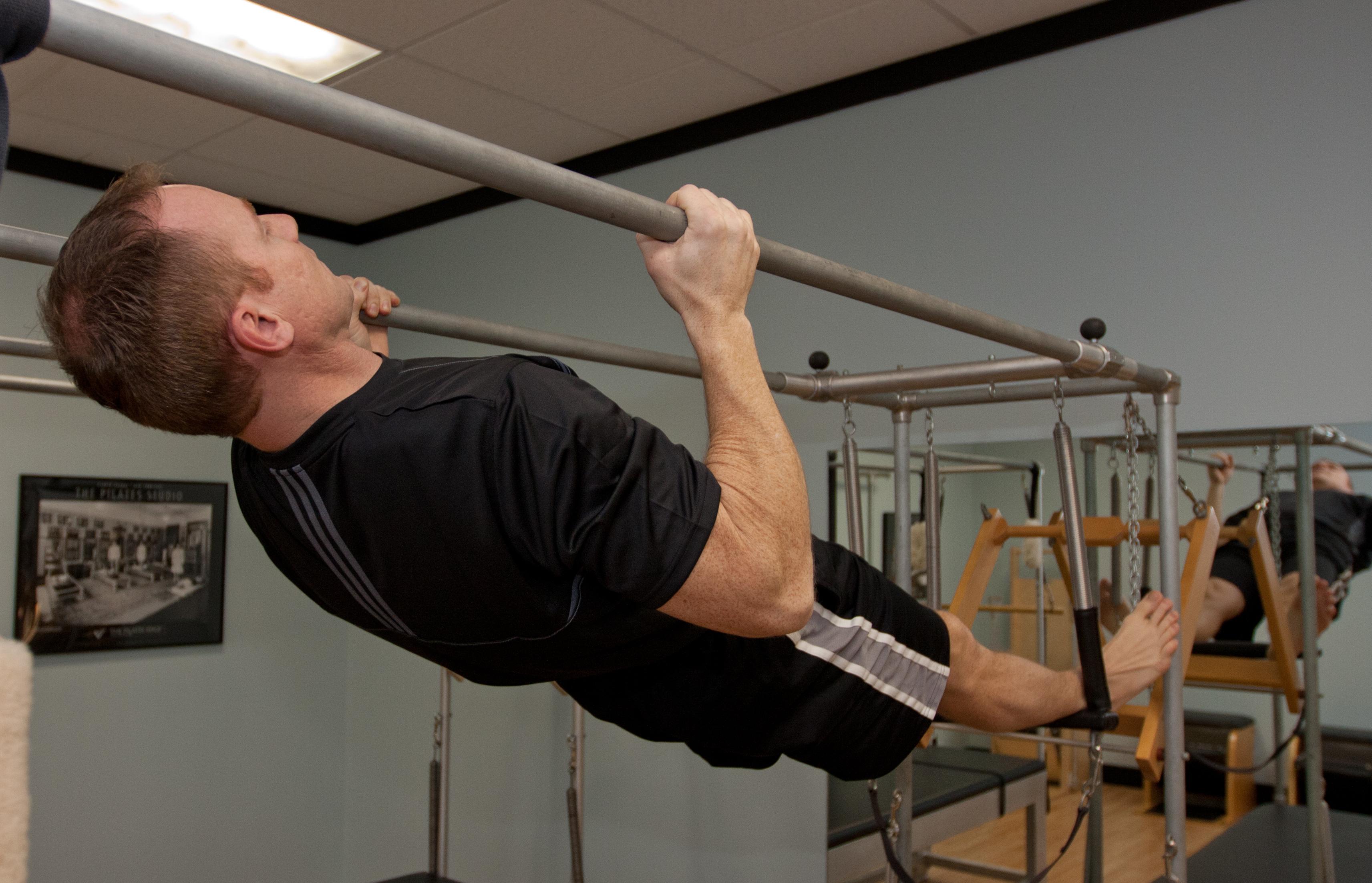 Hanging pullups