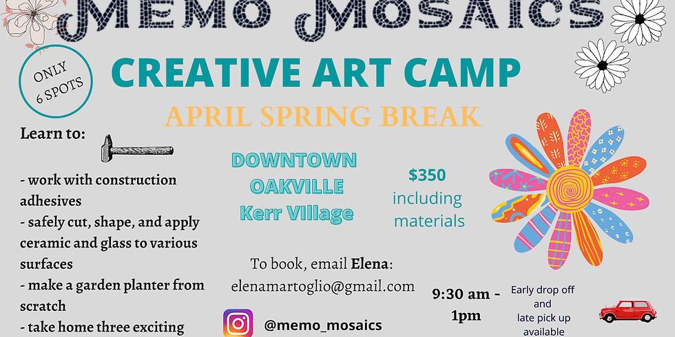 Creative Art Camp: Memo Mosaics