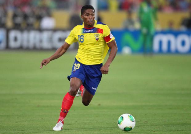 Antonio Valencia, orgullo ecuatoriano.