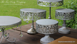 Metal Cake & Cupcake Stands The Tea Party Company (3)