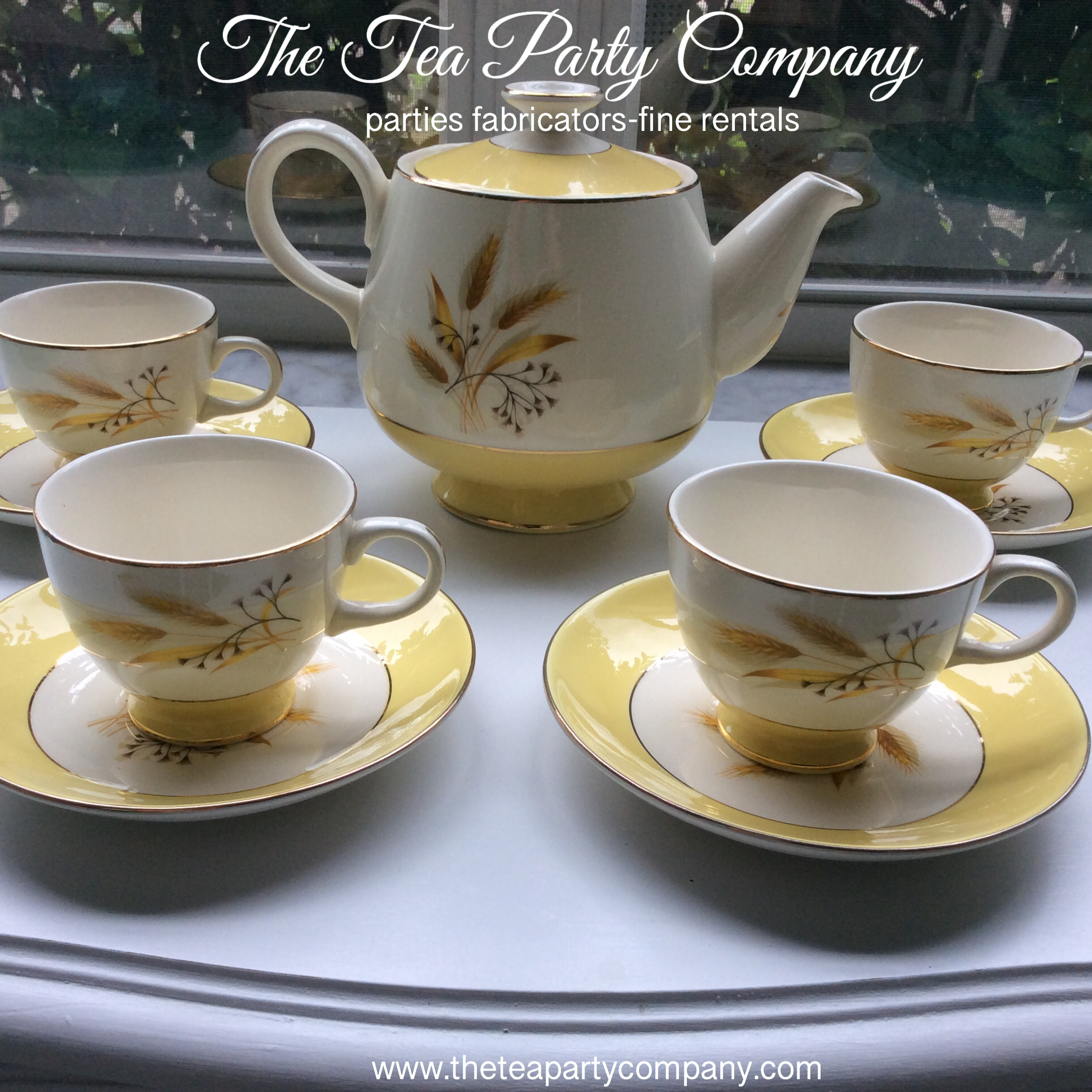 The Tea Party Company Vintage China