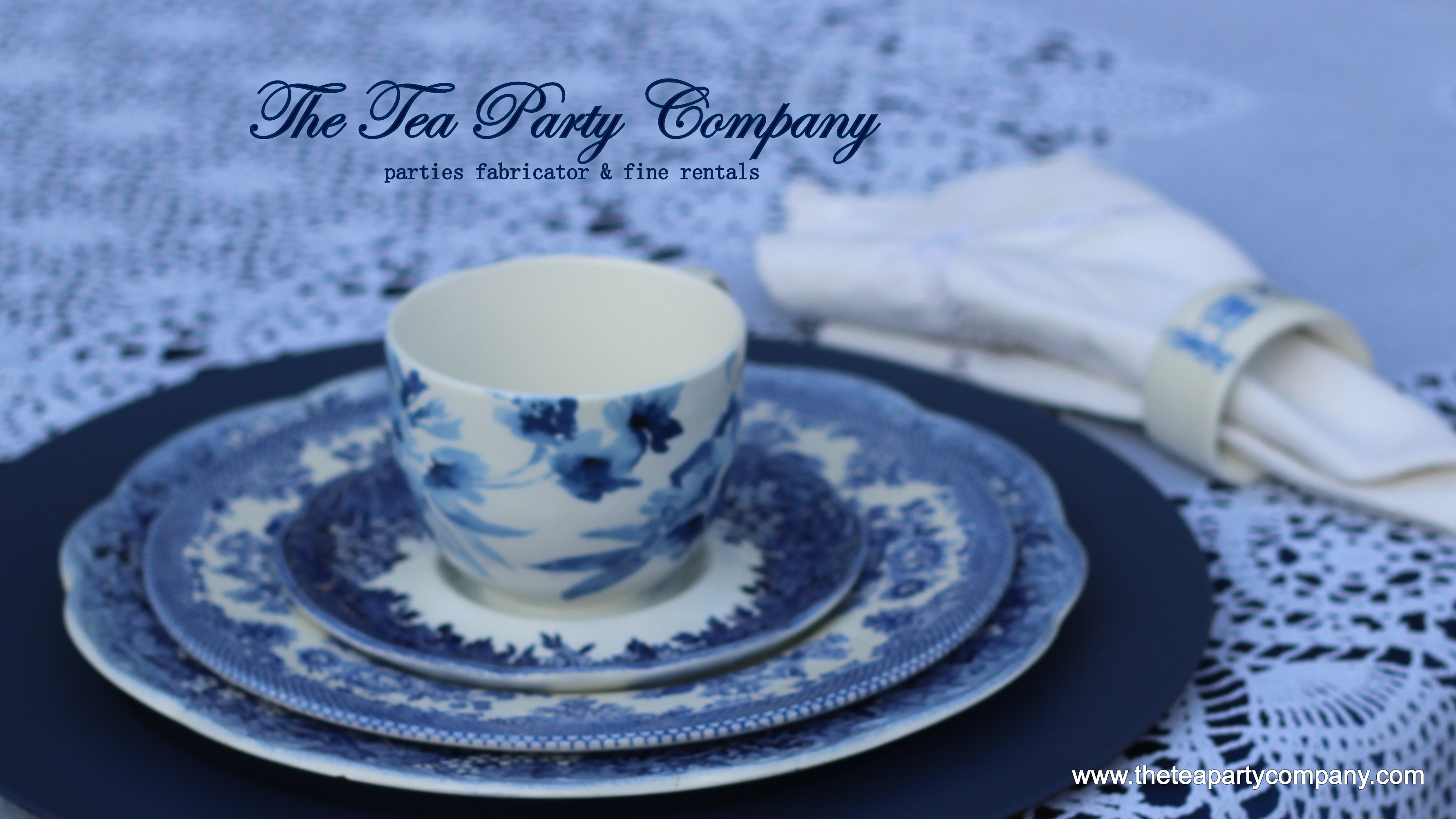 Blue Toile The Tea Party Company (3)