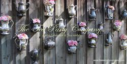 The Tea Party Company Silver Teapots Collection (2)