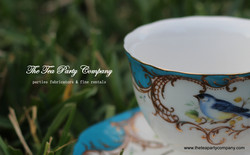Floral Matching Tea Cup & Saucer The Tea Party Company (7)
