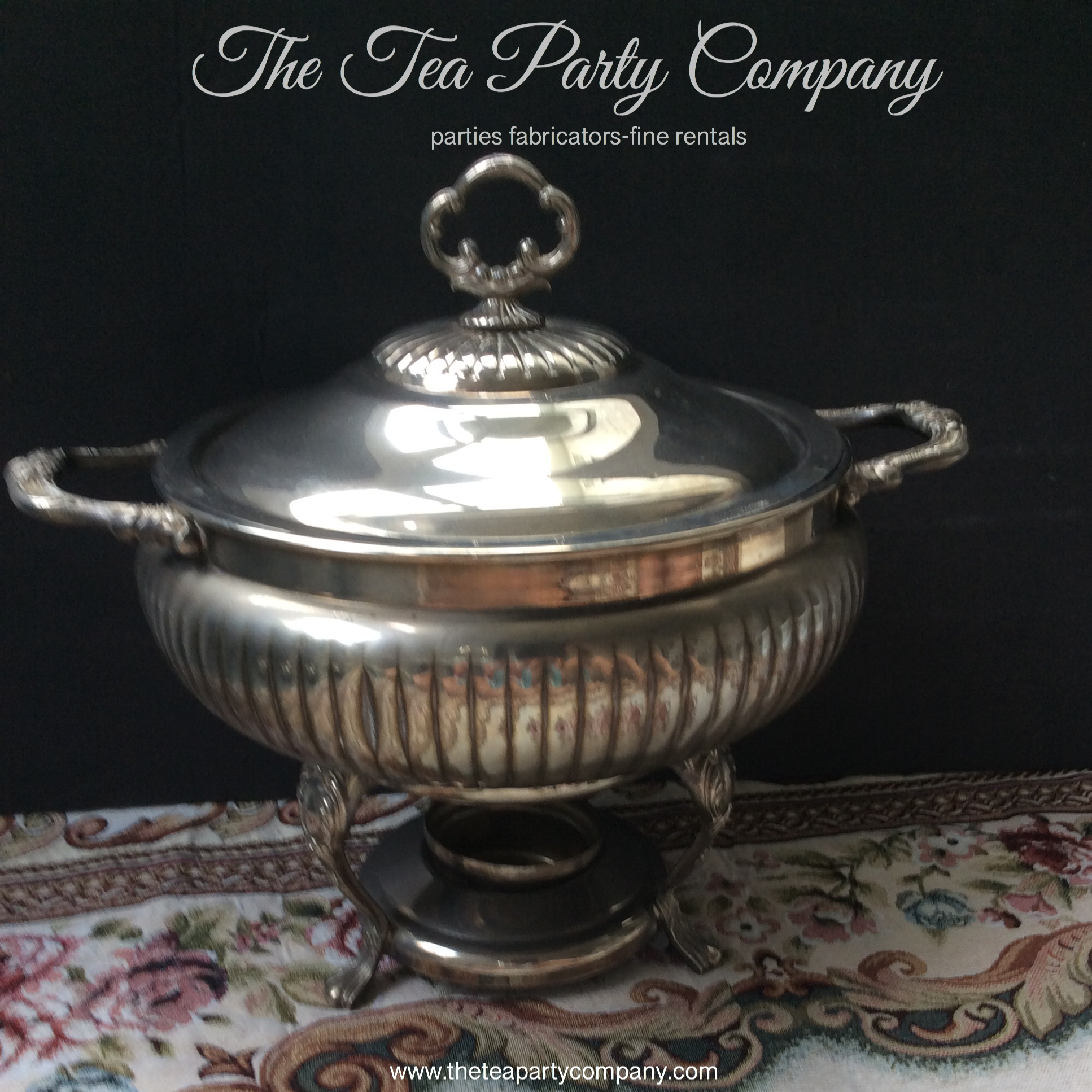Chafing Dish Vintage Warmer Collection The Tea Party Company