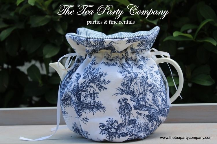 Blue Toile Cozy Collection The Tea Party