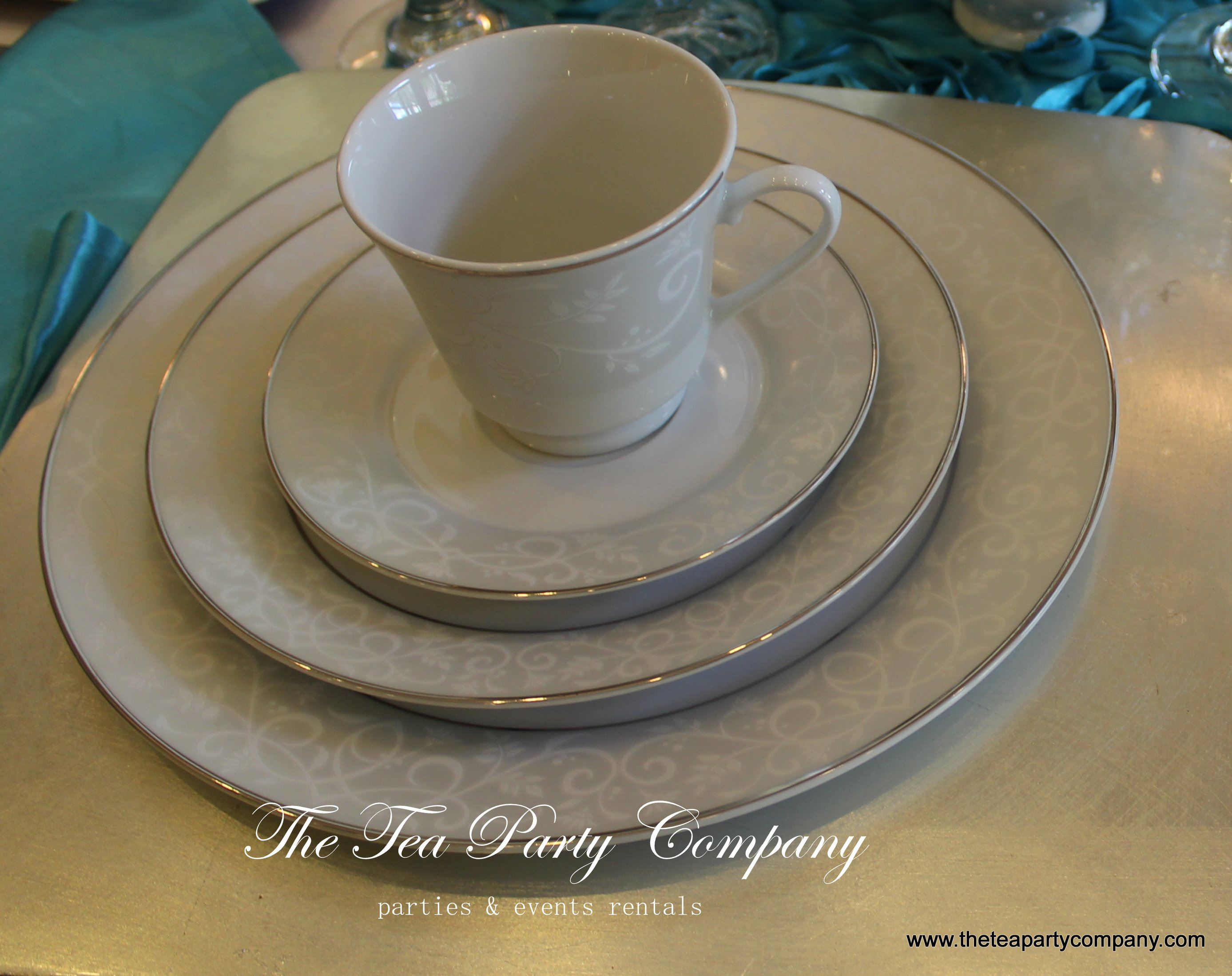 Bridal Tea Cup Set