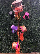 Hat Rack Props Mad Hatter Tea Party The