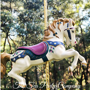 Carousel tea party props collection The