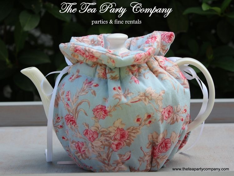 Blue Shabby Chic Floral Cozy Collection