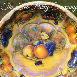 Vintage Tin Trays 4 The Tea Party Compan
