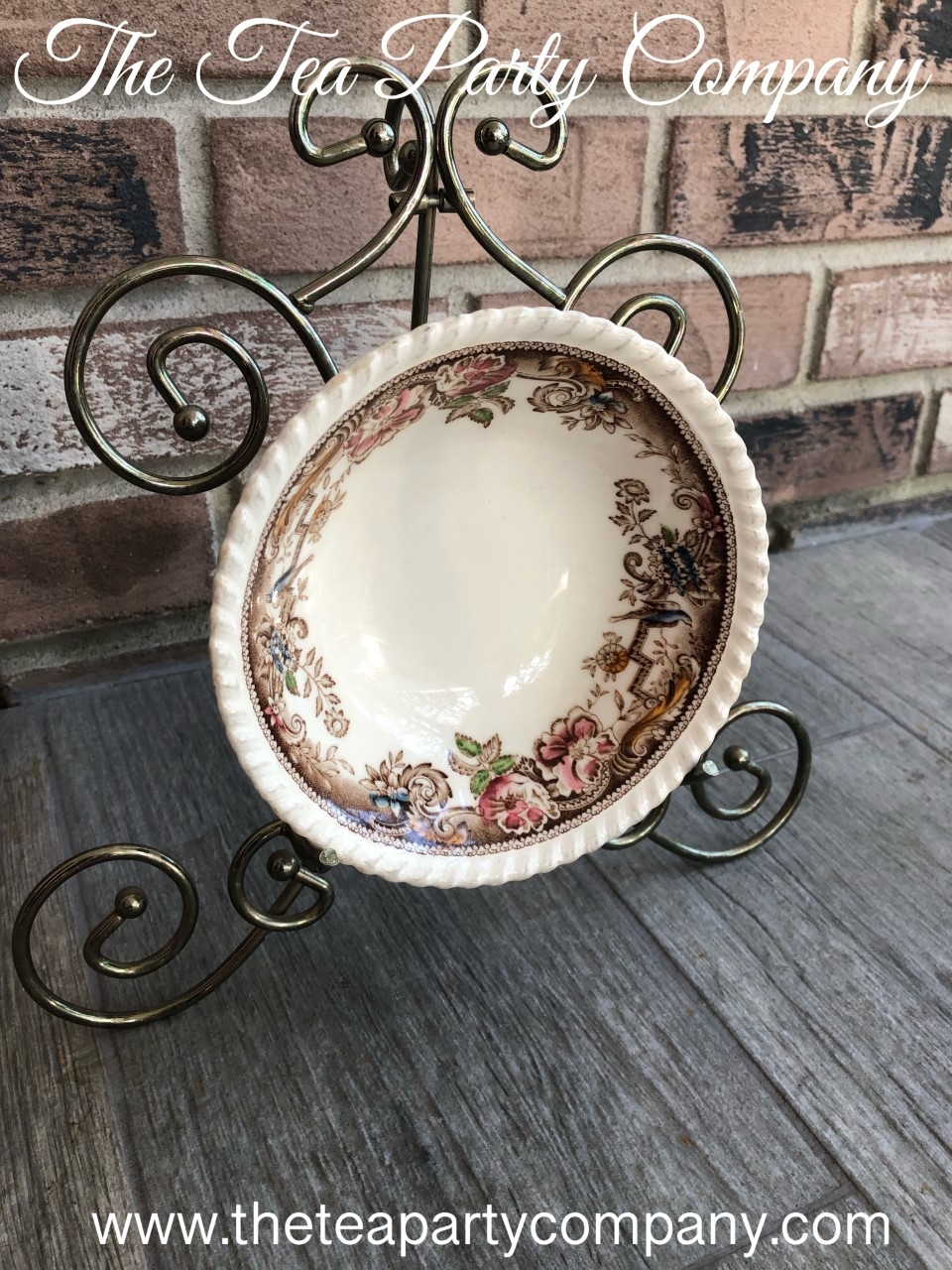 Soup Bowl Mismatched Collection The Tea