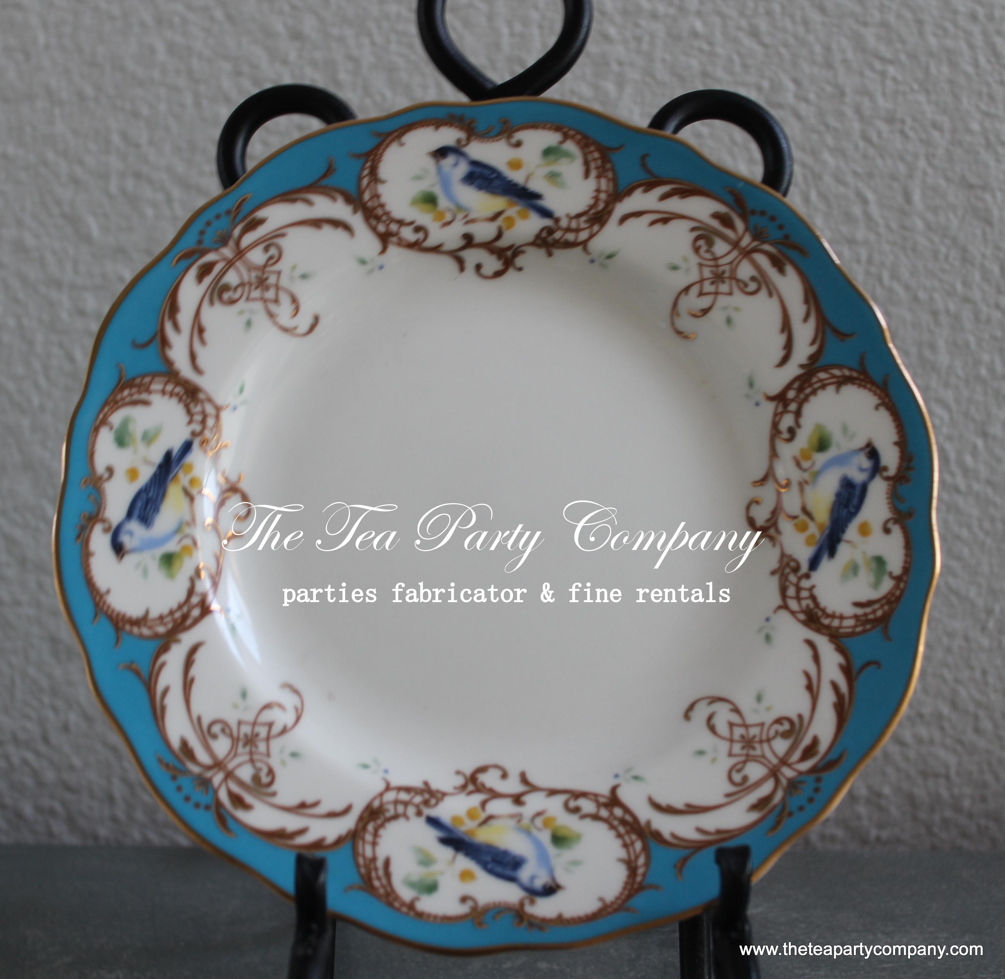 Mismatch Dinner Plates The Tea Party Company (1)