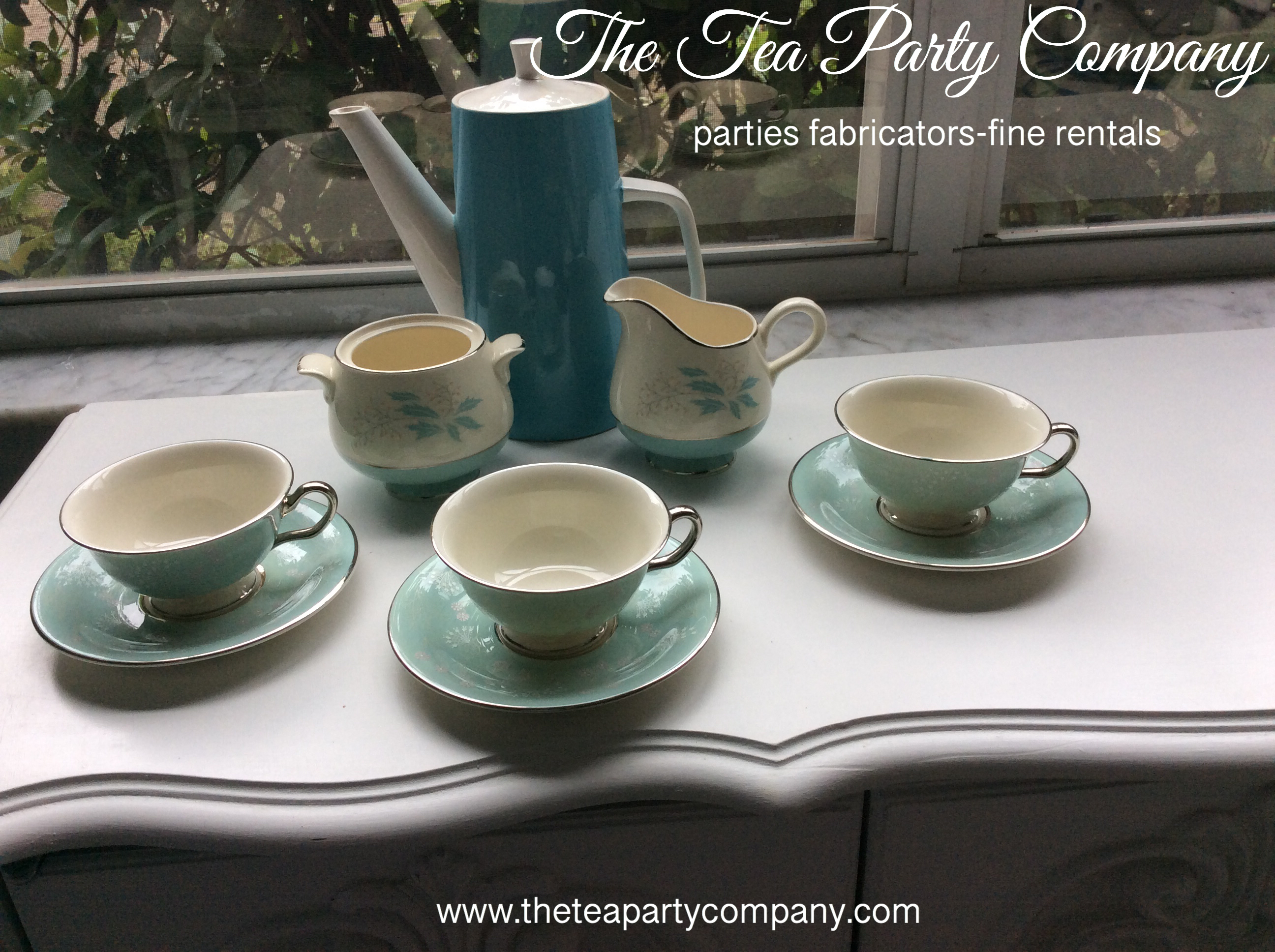 The Tea Party Company Vintage China (2).