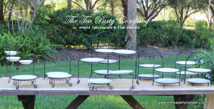 Metal Tiered Foood Stands Collection The Tea Party Company
