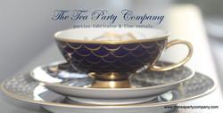 Trio Matching Tea Cup Saucer And Salad P