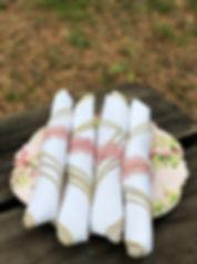 Rolled Napkins Paper Garland Napkin Holder