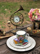 Steampunk Plate Setting The Tea Party Company Tampa