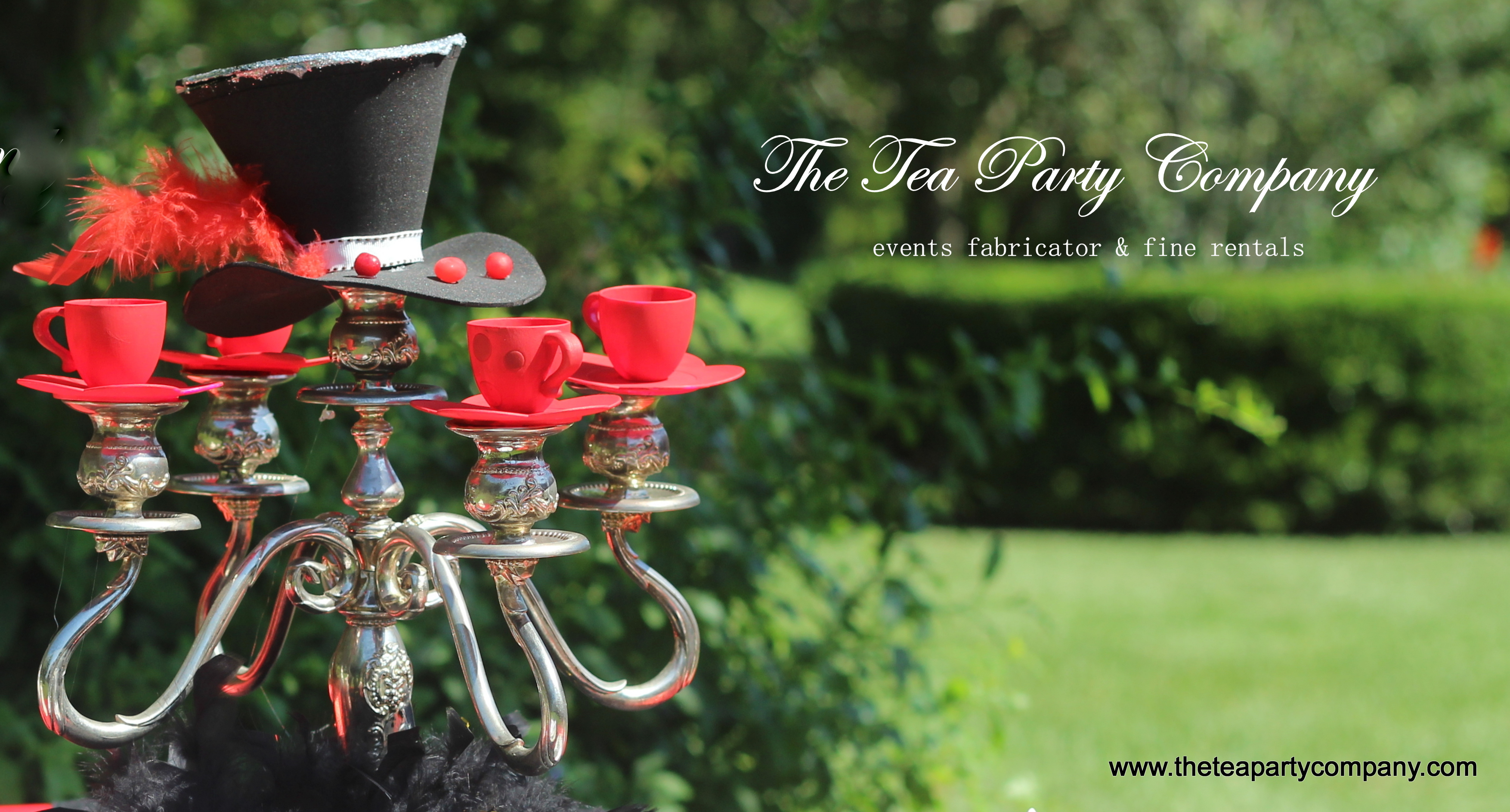 5 arCandelabra The Tea Party Company