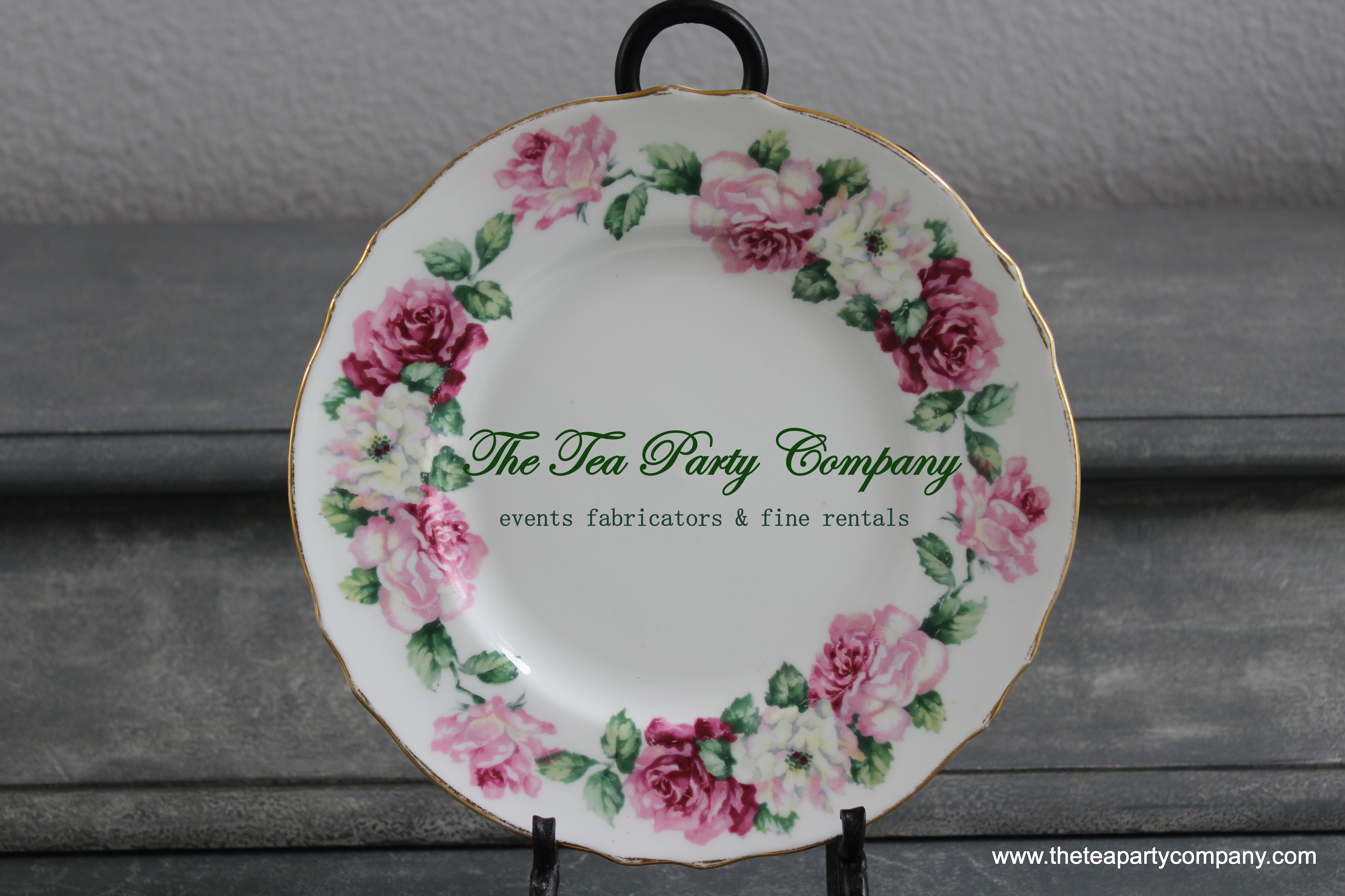 Mismatch Salad Plates The Tea Party Company (4)
