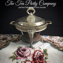 Vintage Chaffin Warmer Dish Collection The Tea Party Company