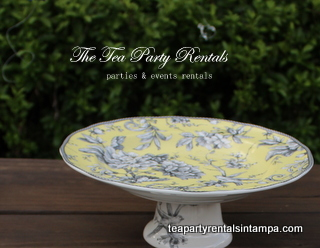 Porcelain Cake Stand The Tea Party Company
