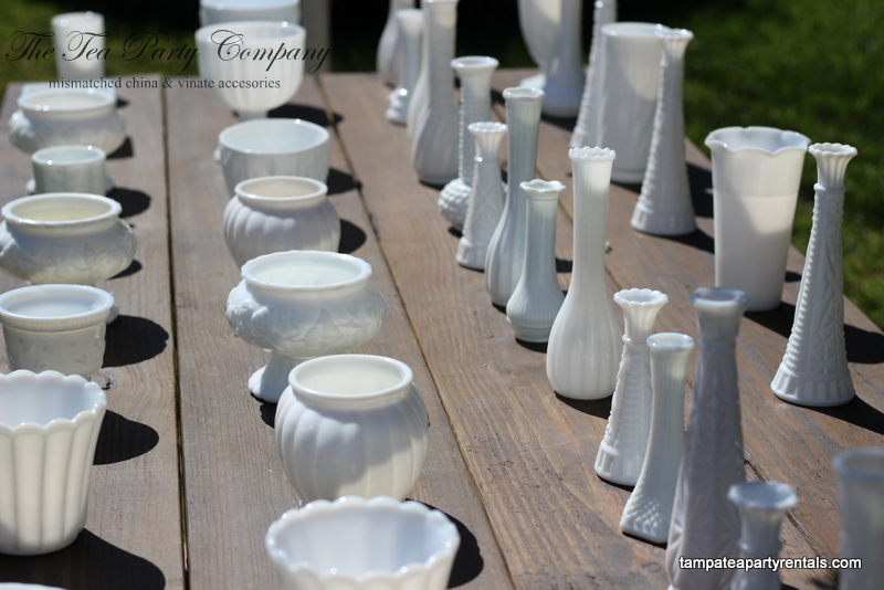 Milk Glass The Tea Party Company