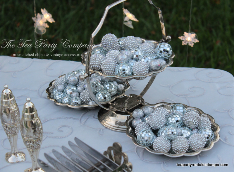 Silverplate Candy Dish The Tea Party Company