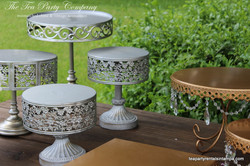 Metal Cake & Cupcake Stands The Tea Party Company (2)