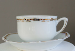 white and Gold Tea Cups Collection The Tea Party Company