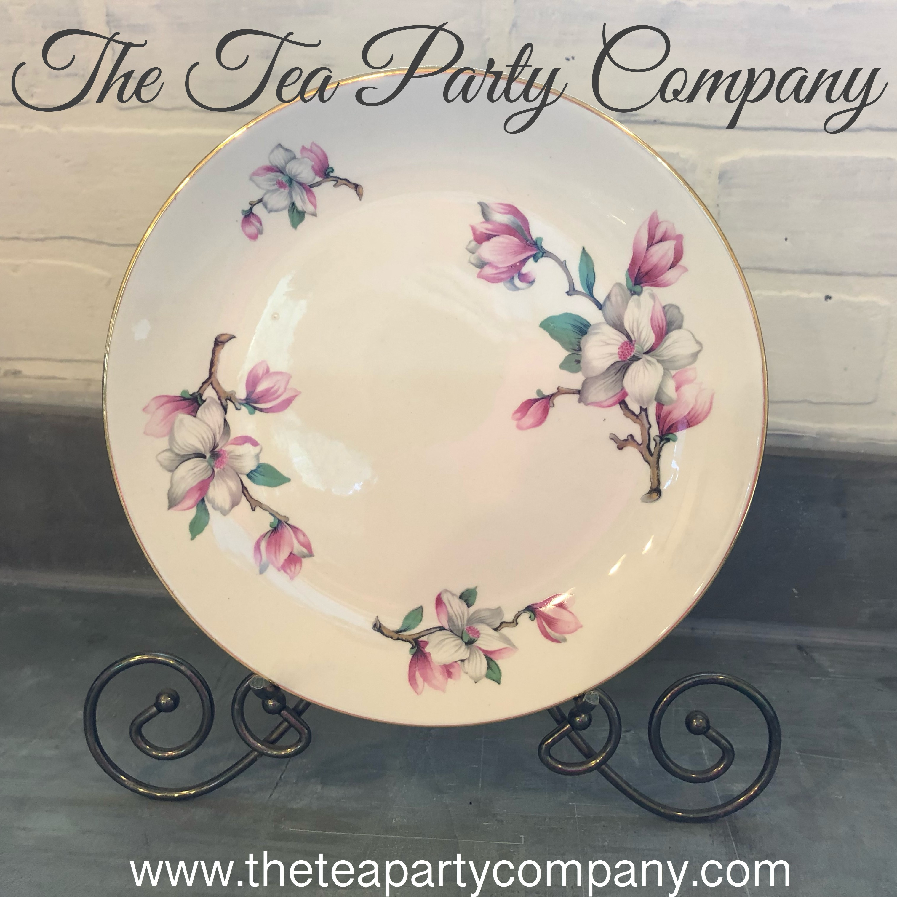 vintage dinner  plate collection 1 The T