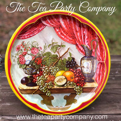 Vintage Tin Trays 7 The Tea Party Compan