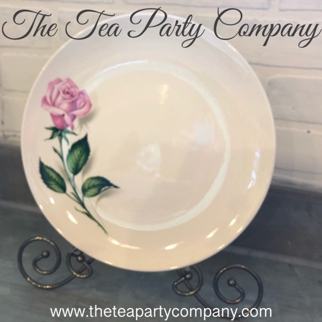 vintage dinner  plate collection The Tea
